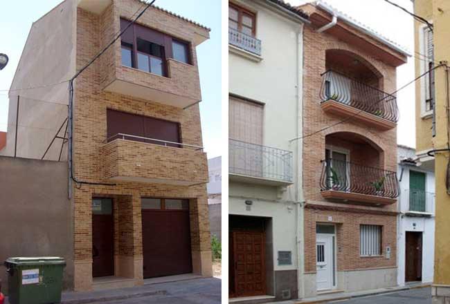 Fachadas exteriores mg2 construcciones y reformas slu for Exteriores de casas rusticas
